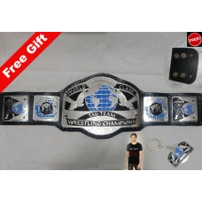 Replica World Class Tag Team Wrestling Championship Belt