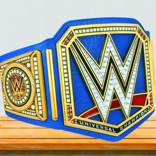 WWE Blue Universal Championship Replica Title Belt