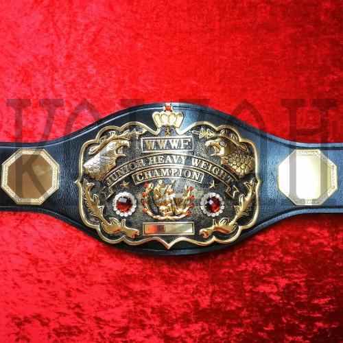 Old WWWF Junior Heavyweight Championship Belt Real Replica Adult Champion 1965