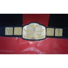 World 6 six Man TAG TEAM Wrestling Championship Belt Adult Size